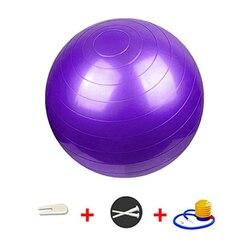 Piłka do ćwiczeń z taśmy oporowe i szybka pompa  piłka fitness piłka do jogi krzesła do domu biurowego Anti-Burst Heavy Duty Balance
