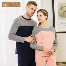 Qianxiu Couple new fall suit pajamas for men