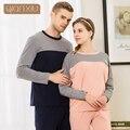 Qianxiu Couple new fall suit pajamas for men