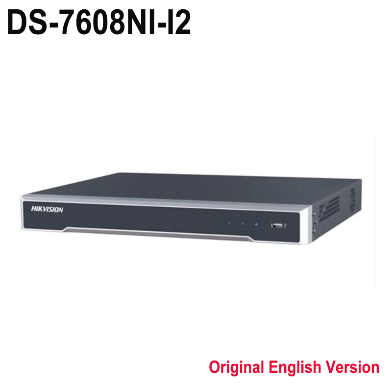 dhl free shipping hik ds 7616ni i2 english version 16ch nvr with 2sata non poe hdmi vga plug. Black Bedroom Furniture Sets. Home Design Ideas