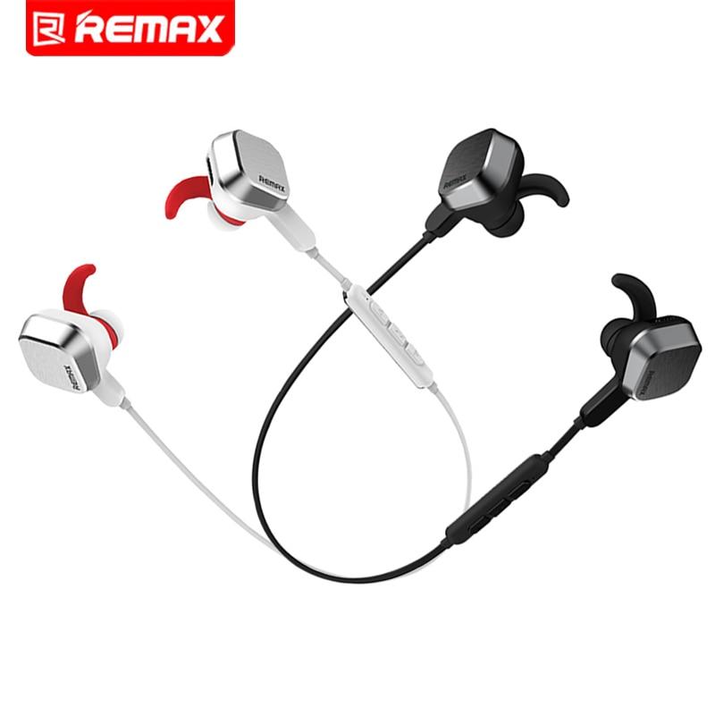 Remax Bluetooth 4.1 Earphone Headset Stereo Portable Wireless Handsfree Headphones Anti Sweat Sport Earbuds Universal For Phone
