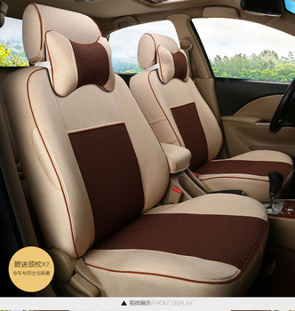 TO YOUR TASTE auto accessories custom luxury linen CAR SEAT COVER for HONDA Jazz FIT crosstour EVERUS CRIDER VEZEL summer cool