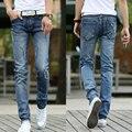 new men skinny jeans men sexy low waist fashion broken hole  plus size 36 pencil pants men dropship wholesale from factory