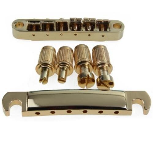 hot 5x gold abr 1 bridge tune o matic e tailpiece for. Black Bedroom Furniture Sets. Home Design Ideas