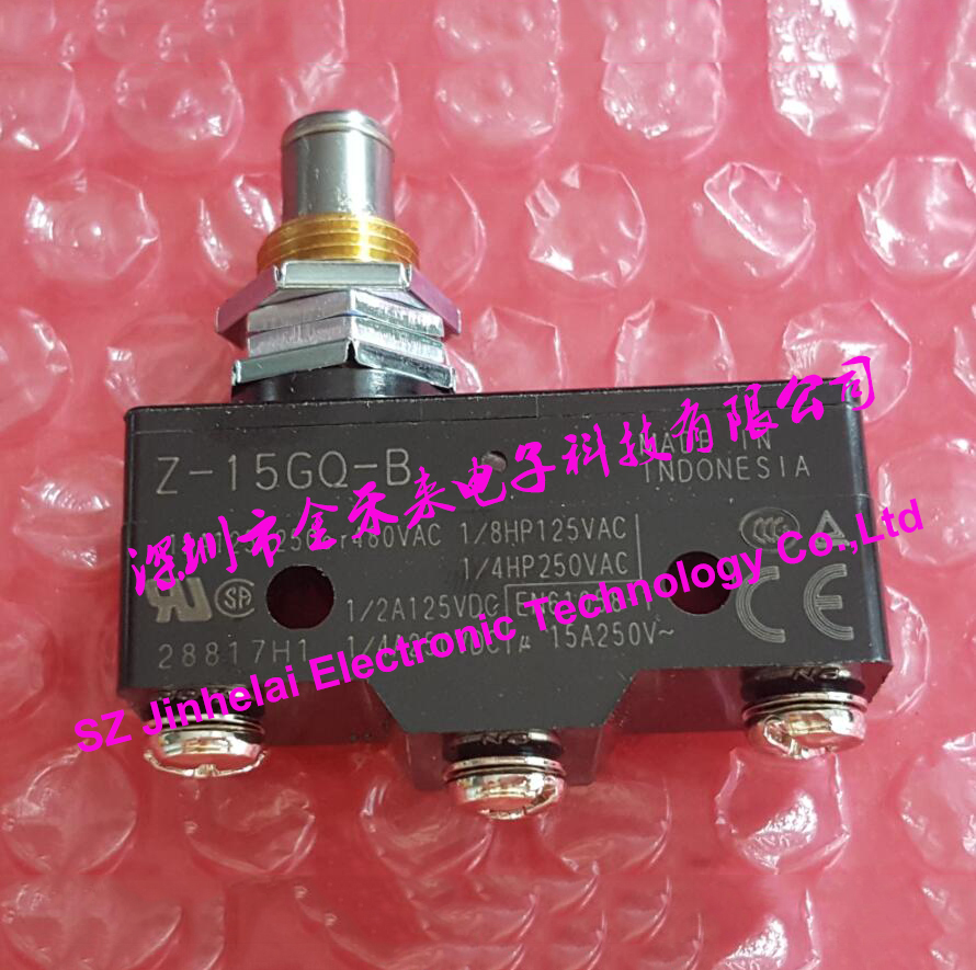 100authentic Original Z 15gq B Omron Micro Switch 15a 250vac In 100 Made Indonesia