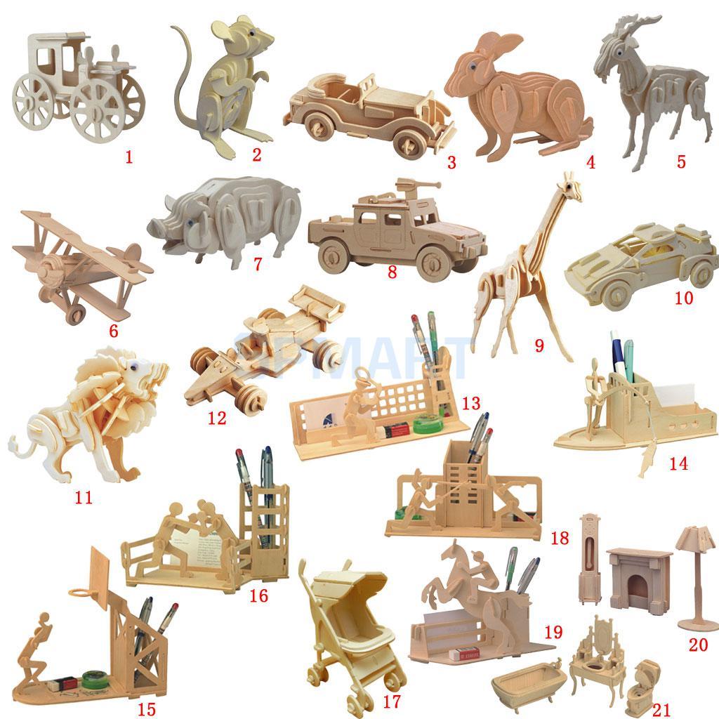Aliexpress.com : Buy 3D Wooden Puzzles Woodcraft