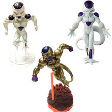13-19cm DXF Dragon Ball Z Frieza Freeza Gold Freezer PVC Action Figures Dragonball Collection Model Dolls Toys In Box
