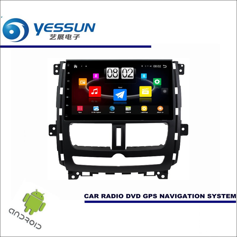 YESSUN Car Android Player Multimedia For Nissan Succe 2011~2016 Radio Stereo GPS Nav Navi Navigation (no CD DVD ) 10 HD Screen