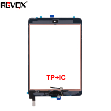 RLGVQDX Digitizer Home Button With IC Conector A1538 A1550 For iPad mini 4 TouchScreen Digitizer Touch Glass Screen touch screen digitizer glass for fpi st156gw008akw 03x touchscreen laptop digitizer