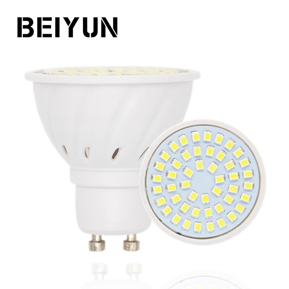 10pcs Lot Bombillas Led Bulbs Gu10 220v 2835 Lampada De Led Lamp Gu