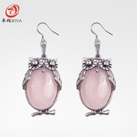The New Natural Stone Earrings To Choose From A Variety Of Colors Gems Popular Animals