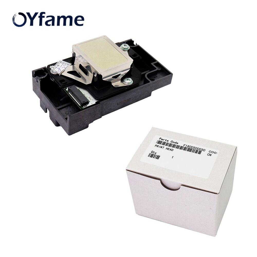OYfame nouveau et Original F180000 tête d'impression pour Epson T50 A50 T60 R290 R280 RX610 L800 tête d'impression pour tête d'impression Epson T50 L800