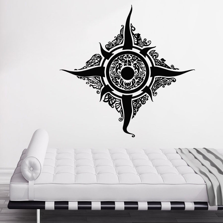 captivating living room wall art stickers | Vinilos Paredes Wall Stickers Complex Graphics ...