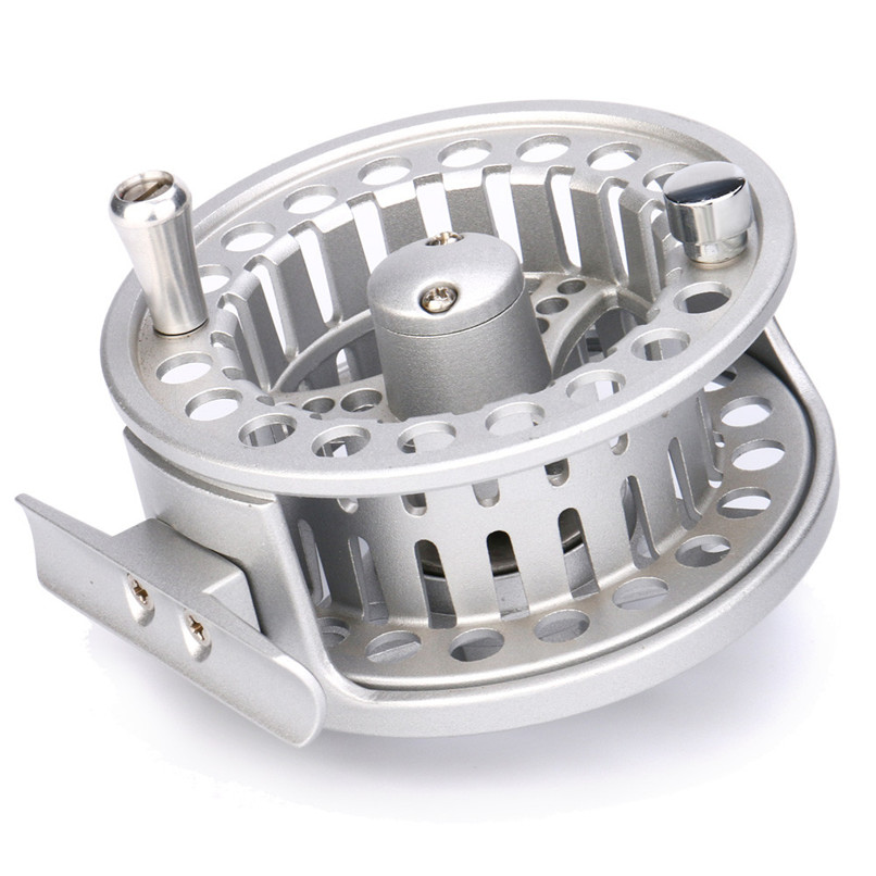 2017 New Arrival Fly Reel 3/4 WT Large Arbor Silver/Black Aluminum Fly Fishing Reel pesca fishing accessories free shipping mager 10pcs lot ssr mgr 1 d4825 25a dc ac us single phase solid state relay 220v ssr dc control ac dc ac