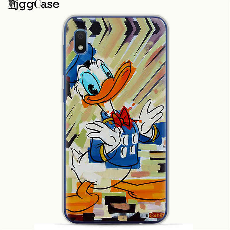 Cute mickey Minnie color Case For Samsung Galaxy M10 M20 M30 S10 S10e S9 S8 Plus A10 A20 A30 A50 A70 Case A6 A8 A7 A9 2018 Cover