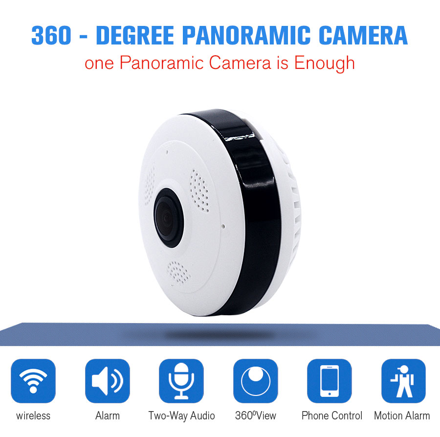 VR Panoramic HD 960P Camera Wireless IP Camera Wifi Home Surveillance System Wi-Fi Camera 360 Degree Mini Security Camera цена и фото