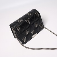 New Casual Small Sheepskin Flap Handbags High Quality Hotsale Ladies Party Clutches Women Crossbody Shoulder Evening