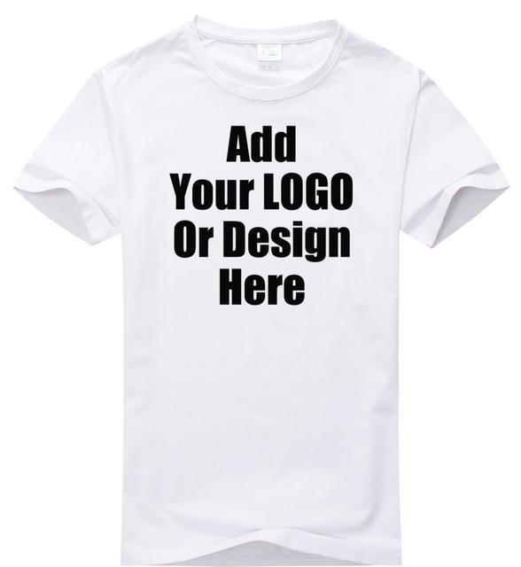 High Quality custom logo shirt plain t shirt 200 gram LOGO DIY Tshirt  customized pattern print design t-shirt top tee d943b33ce958
