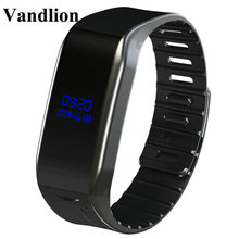 Vandlion Digital Voice Recorder Wrist Watch Activated Recording 384kbps Dictaphone MP3 OLED Screen Business V86