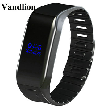 Vandlion Digital Voice Recorder Wrist Watch Voice Activated Recording 192kbps Dictaphone MP3 Recorder OLED Screen Business V86