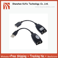 USB Male Female To RJ45 Plug Ethernet Connector Adaptor Usb Rj45 Extension Adapter 5pcs Lot