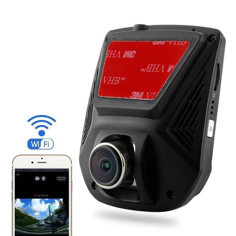 ФОТО A305 Wifi Car DVR Novatek 96658 Mini Car Camcorder Sony Sensor Night Vision 2.45 inch Screen Full HD 1080P 170 Degree Angle Lens