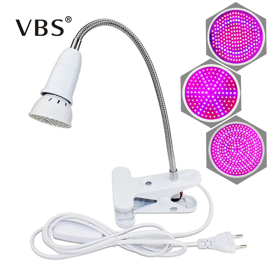 Led Phyto Lamps For Plants E27 AC 85-265V Grow Light Full Spectrum Indoor Plant Lamp Red Blue UV IR For Plant Hydroponics System