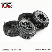 5T Knobby Wheel Set For 1/5 HPI Baja 5T Parts(TS H85101),wholesale and retail+Free shipping!