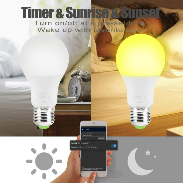 Colorful LED Bulb with Remote Control