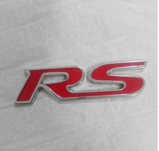 D Car Front Grille Emblem Badge Stickers Accessories Styling For - Acura rsx front emblem