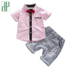 Baby boys summer clothes tracksuit Kids fashion Cotton Cute Sets toddler clothes Outfit Costumes Baby little girls Clothing Set цена
