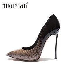 5e95c7ac Marka projekt buty na cienkich wysokich obcasach dla kobiet sukienka  damskie buty na wysokim obcasie kobieta pompy Sexy letnie s.