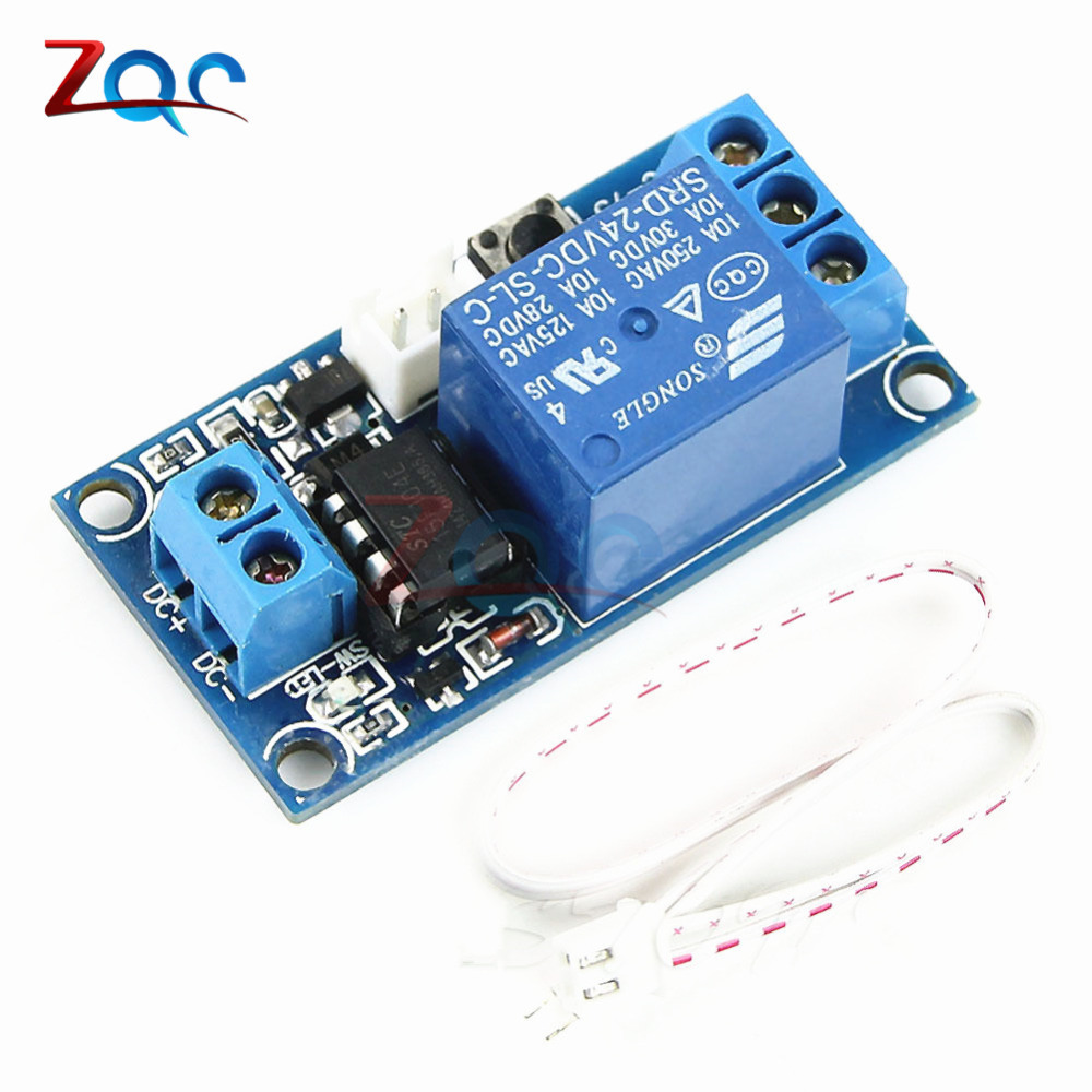 1 Channel DC 5V/12V/24V Latching Relay Module with Touch Bistable Switch MCU Control оправа miu miu miu miu mi007dwhag36