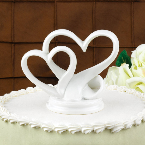 double heart wedding cake toppers popular wedding cake topper buy cheap 13707