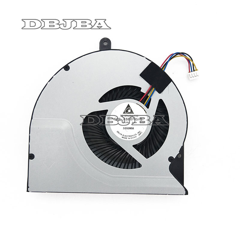 CPU Fan For Asus N56V N56VV N76VZ N56DP N56VB N76VM N56J N56JR N56JK N56SL Laptop CPU Cooling FAN KSB0705HB-BK99 BK35
