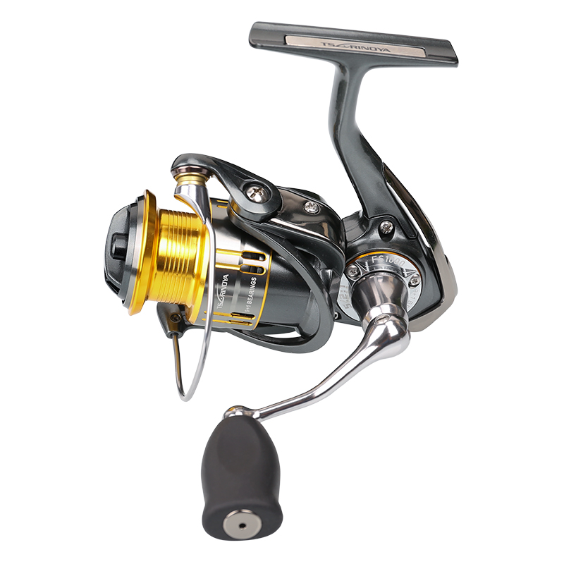Tsurinoya Spinning Fishing Reel 10 Ball Bearing Lure Reel Metal Spool Metal Handle Shallow Spool FS1000 Carrete de Pesca Reel цены