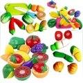 Кухня Еда Play Игрушка Резки Фрукты Овощи Нож Для Детей Дети Большой Подарок Высокого Качества