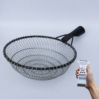 Thickening strengthening weave net fishing large nets kitchen tool leaks hedges noodle colander strainer cookware