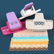 Floral Lace Pattern Embossers Hole Punch Embossing Device Tool For Paper Scrapbooking Gift Card Party Wedding DIY Crafts
