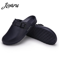 Medical Shoes Slippers Men Doctors Nurses Surgical Work Shoes Non-slip Slippers Autumn Summer Slippers Male Chef Casual Shoes