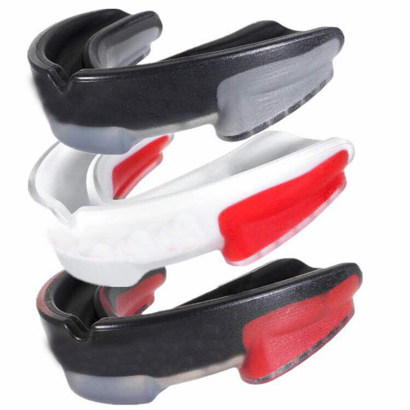 Boxing Mouthguard Orthodontic Brace Buck Teeth Retainers Boxing Tooth Protector Dental Mouthpieces Orthodontic Appliance Trainer