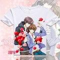 Japão Anime T-shirt Onodera Ritsu Sekai ichi Hatsukoi takano masamune Cosplay T camisas Dos Desenhos Animados Encabeça Tee