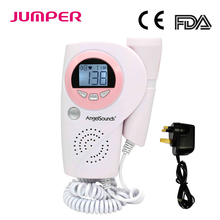 JUMPER LCD Screen Fetal Doppler Baby Sound Portable Fetal Heart Monitor Household Health CE FDA Approved JPD-100A