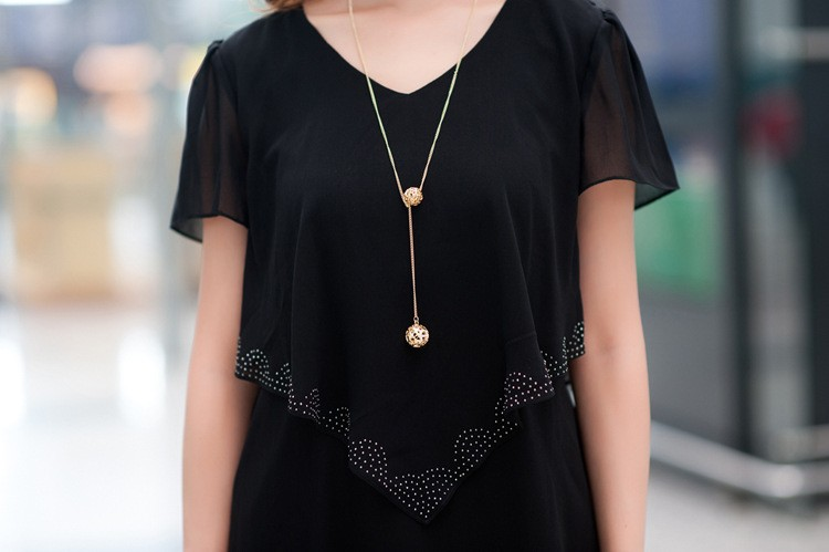 Vestido De Festa Summer Dresses 5XL Plus Size Women Clothing ropa mujer 18 Chiffon Dress Party Short Sleeve Casual Blue Black 7