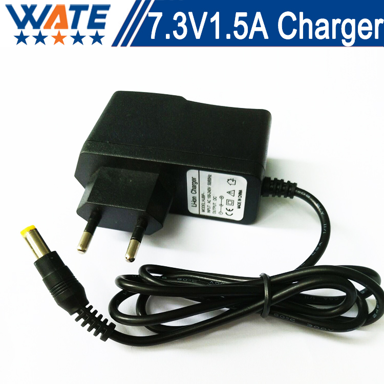7.3V1.5A Charger 2S 7.3V Smart Lifepo4 Charger 6.4V Lifepo4 battery Charger Free shipping
