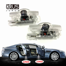 JURUS 2Pcs Door light For Toyota Land Cruiser Highlander Corolla Reiz Prado Prius Led Door Logo Welcome Light Projector Laser цена