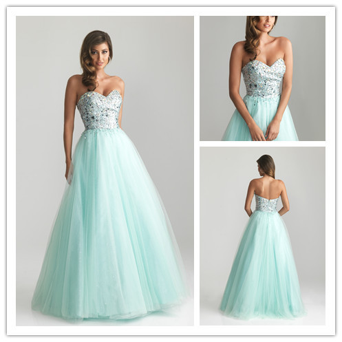 Pink Sequin Prom Dresses 2013 Charming sweeth...