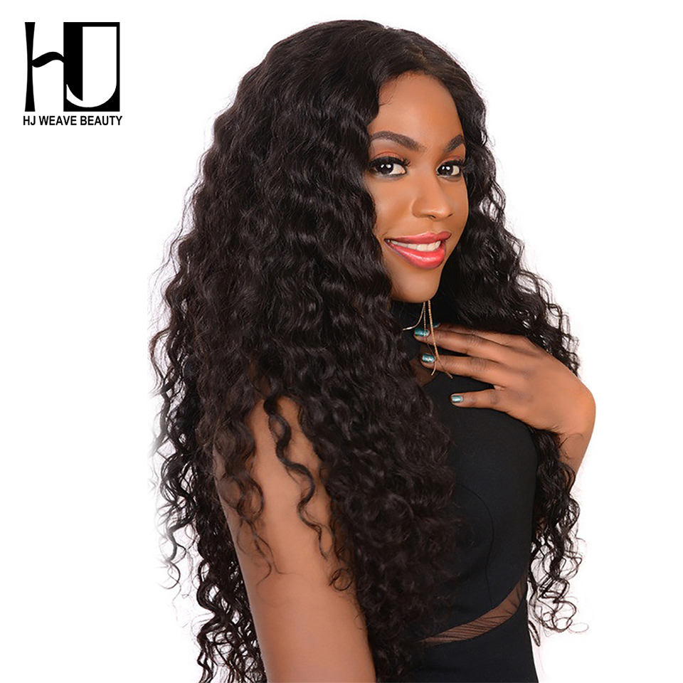 4x4 Lace Closure Wig Brazilian Virgin Hair Natural Wave Lace Front Human Hair Wigs For Black
