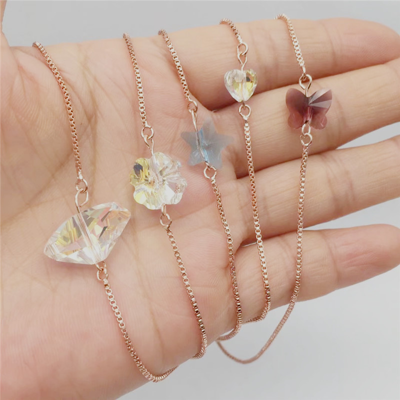 ms betti heart butterfly star clover lucky bracelets for best friends wish bracelet for girls 01_副本