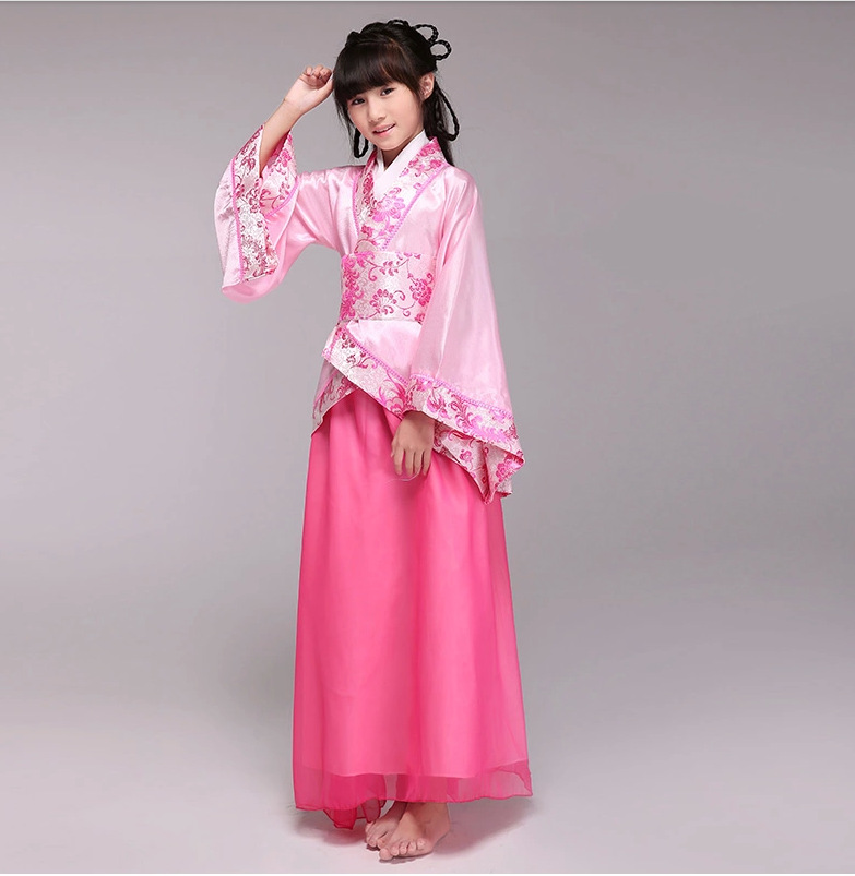 Childs girls new Chinese costume ancient Hanfu Childrenu0027s clothes Tang Dynasty costumes Cosplay party dress 110 150cm-in Chinese Folk Dance from Novelty ...  sc 1 st  AliExpress.com & Childs girls new Chinese costume ancient Hanfu Childrenu0027s clothes ...